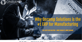 Why Onramp Solutions is the #1 ERP for Manufacturing