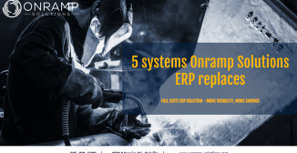 5 Systems Onramp Solutions ERP Replaces